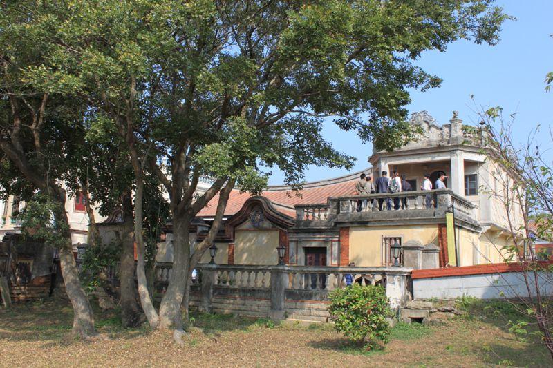 金門国家公園の建築と樹木