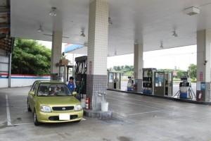 台湾のガソリンスタンド