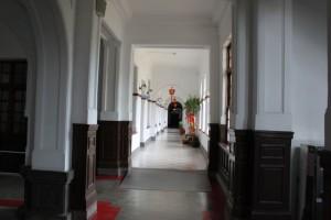 新竹市政府の廊下