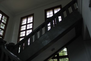 新竹市政府の階段