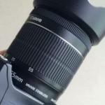 交換レンズを購入。EF-S 18-55/3.5-5.6 IS STM