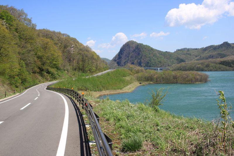 胆沢ダム、ドライブコース
