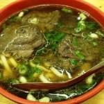 林東芳牛肉麺。台北人オススメのお店