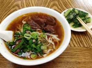 皇家黄牛肉麺の紅焼牛肉麺