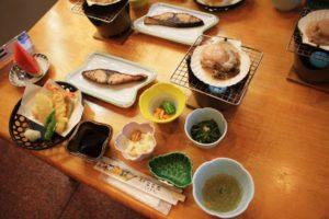 海楽荘の夕食