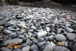 碁石海岸の石