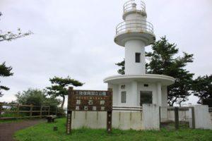 碁石海岸の灯台